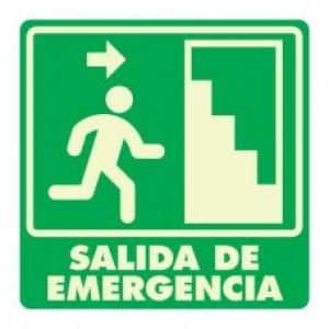 SEÑAL MODELO 003 SALIDA DE EMERGENCIA DERECHA