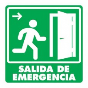 SEÑAL MODELO 005 SALIDA DE EMERGENCIA DERECHA