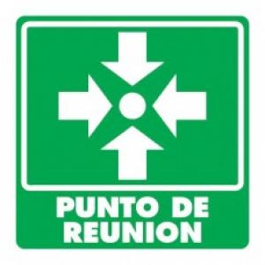 SEÑAL MODELO 008 PUNTO DE REUNIÓN
