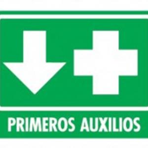 SEÑAL MODELO 015 PRIMEROS AUXILIOS