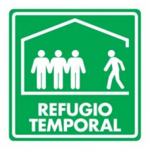 SEÑAL MODELO 019 REFUGIO TEMPORAL