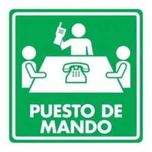 SEÑAL MODELO 020 PUESTO DE MANDO