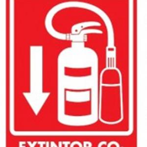 SEÑAL MODELO 038 EXTINTOR DE CO2