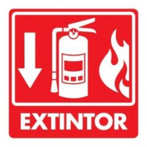 SEÑAL MODELO 039 EXTINTOR CON FLAMA