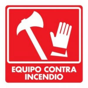 SEÑAL MODELO 043 EQUIPO CONTRA INCENDIO