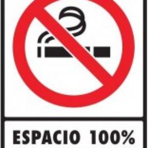 SEÑAL MODELO 046 100% LIBRE DE HUMO