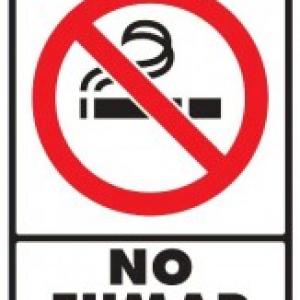 SEÑAL MODELO 047 NO FUMAR