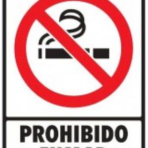 SEÑAL MODELO 048 PROHIBIDO FUMAR